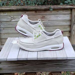 Cole Haan Sneakers Lace Up Womens Beige Size US